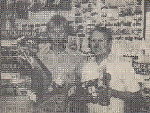 Model Engines Hobby Shop in Richmond, Melbourne, Australia in 1987