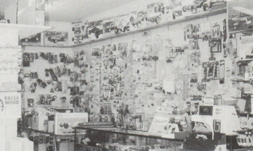 Zanter Hobbies, Narrabeen, NSW, Australia in 1988