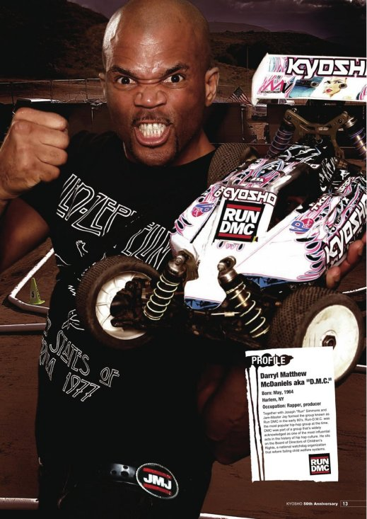 Darryl McDaniels for Kyosho