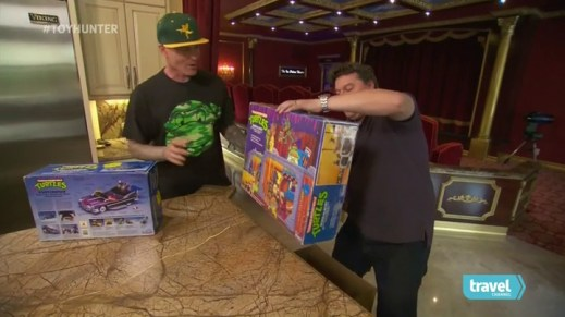 Vanilla Ice on Toy Hunter with Jordan Hembrough