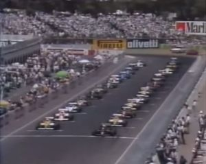 1985 Australian Formula 1 Grand Prix Grid