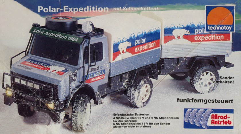 Technotoy/Nikko Alaska Polar-Expedition Mercedes Unimog