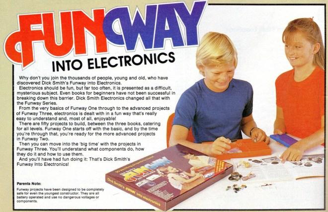 Dick Smith Electronics Funway Kits