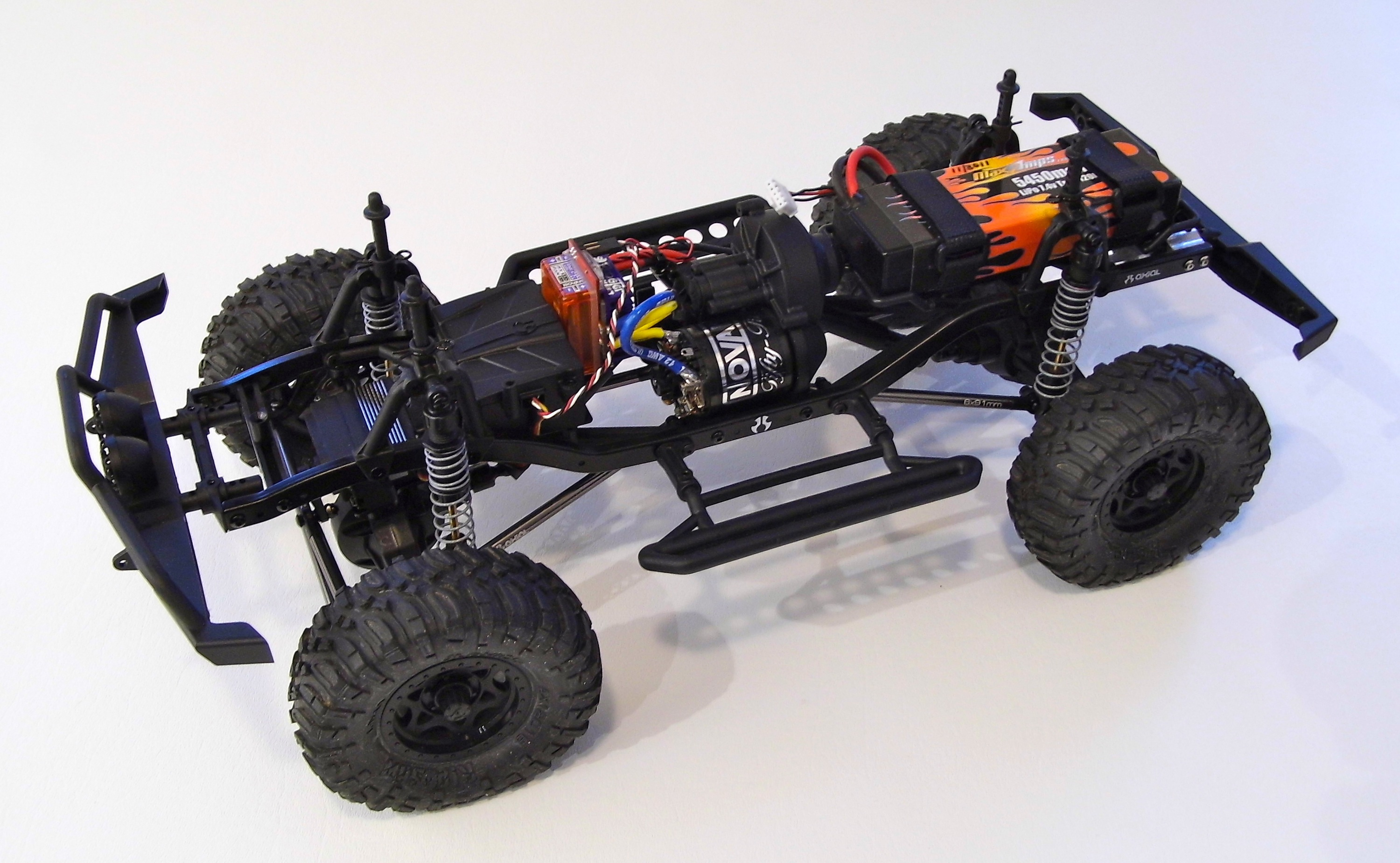 Setting up a chassis for D90 Land Rover body