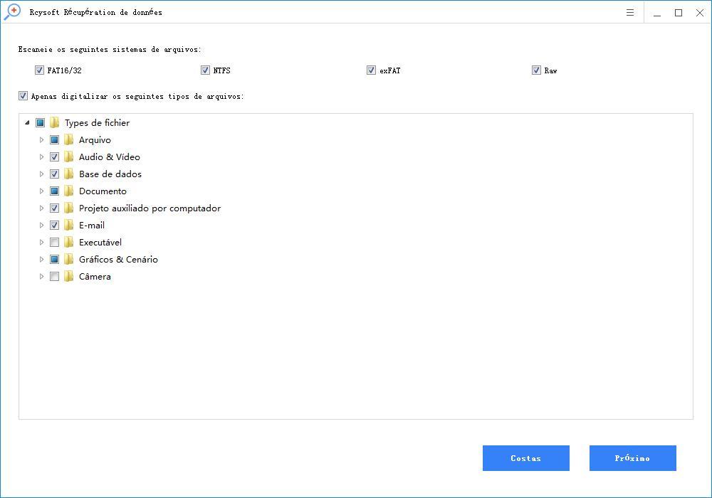 Comment utiliser l'Assistant de récupération de données