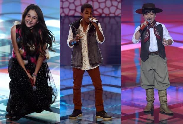 """Globo define finalistas do """"The Voice Kids""""; veja"""