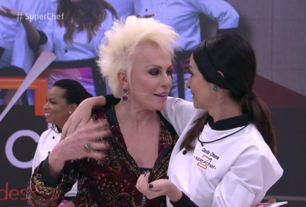 """Claudia Ohana pede desculpa a Ana Maria Braga após climão no """"Mais Você"""": """"Fui muito metida"""""""