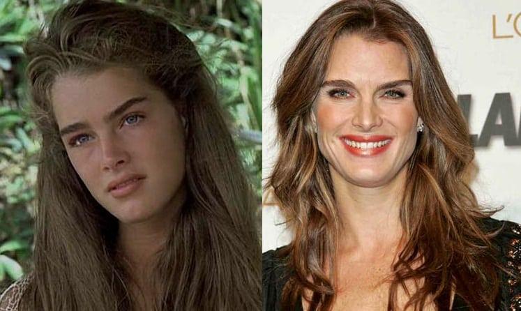 "Brooke Shields, protagonista de ""A Lagoa Azul"""