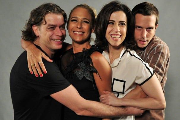 """Quarteto principal de """"Tapas & Beijos"""""""