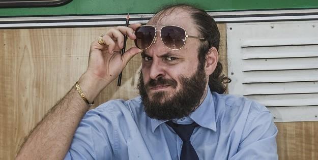 """Paulinho em gravação de """"Chapa Quente"""""""