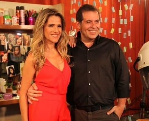 "Ingrid Guimarães e Leandro Hassum protagonizam ""Chapa Quente"""