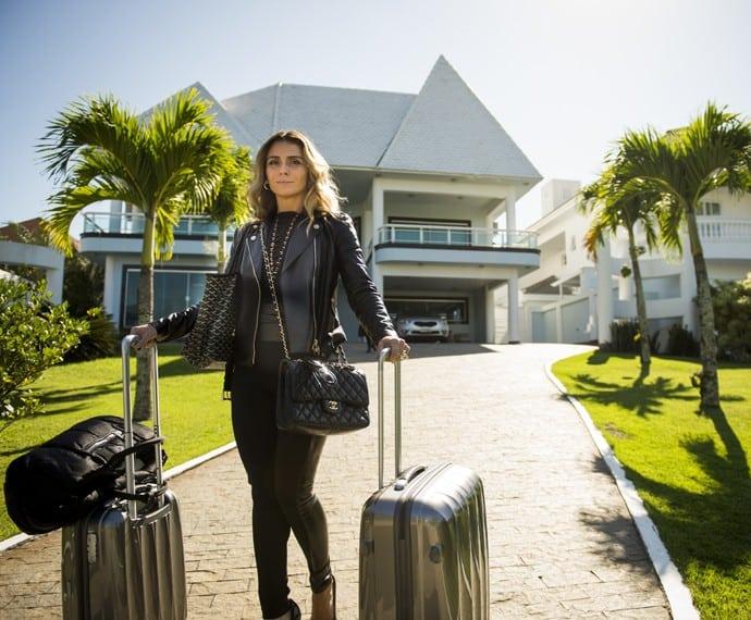"""Giovanna Antonelli é Atena em """"A Regra do Jogo"""""""