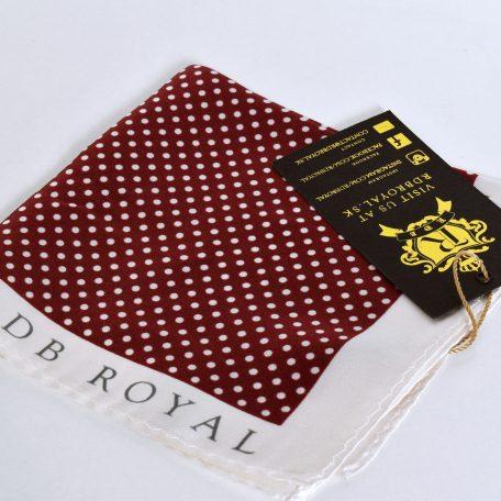 cervena-bodkovana-vreckovka-do-saka-rdb-royal-hodvabna