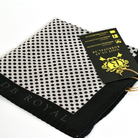 Luxurious RDB Royal Pure Luxury Collection Pocket Square for Gentlemen