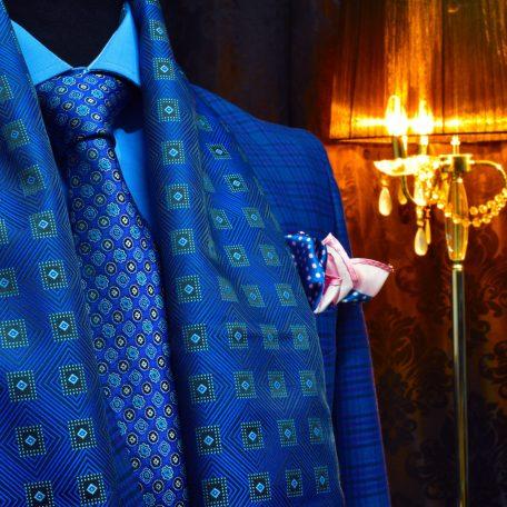 Luxusný pánsky hodvábny darčekový set