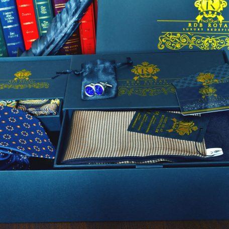 elegantný luxusný pánsky darčekový set