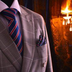 darčekový pánsky hodvábny luxusný set Kingsman Swarovski