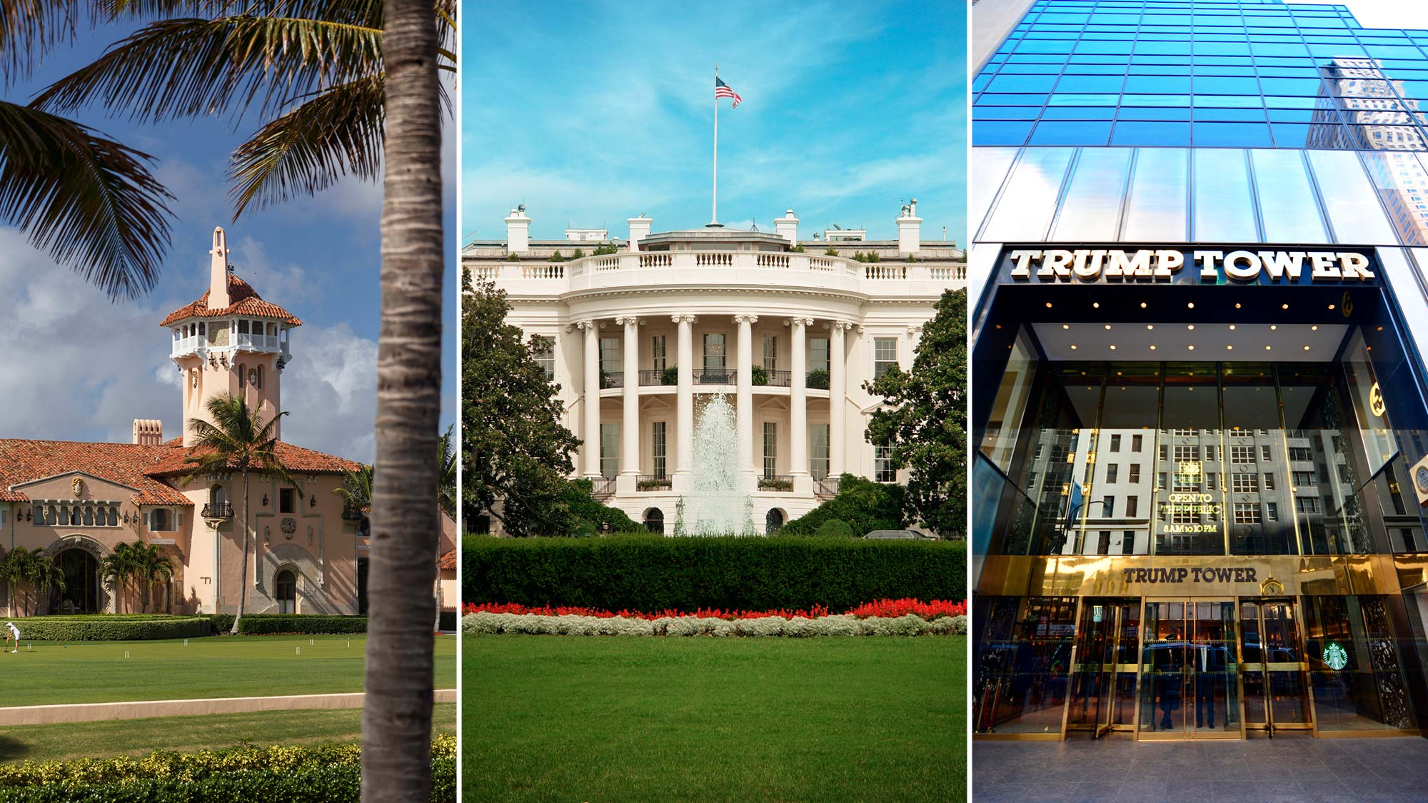 Donald Trump S Home Vs The White House Which Place Is Nicer Realtor Com