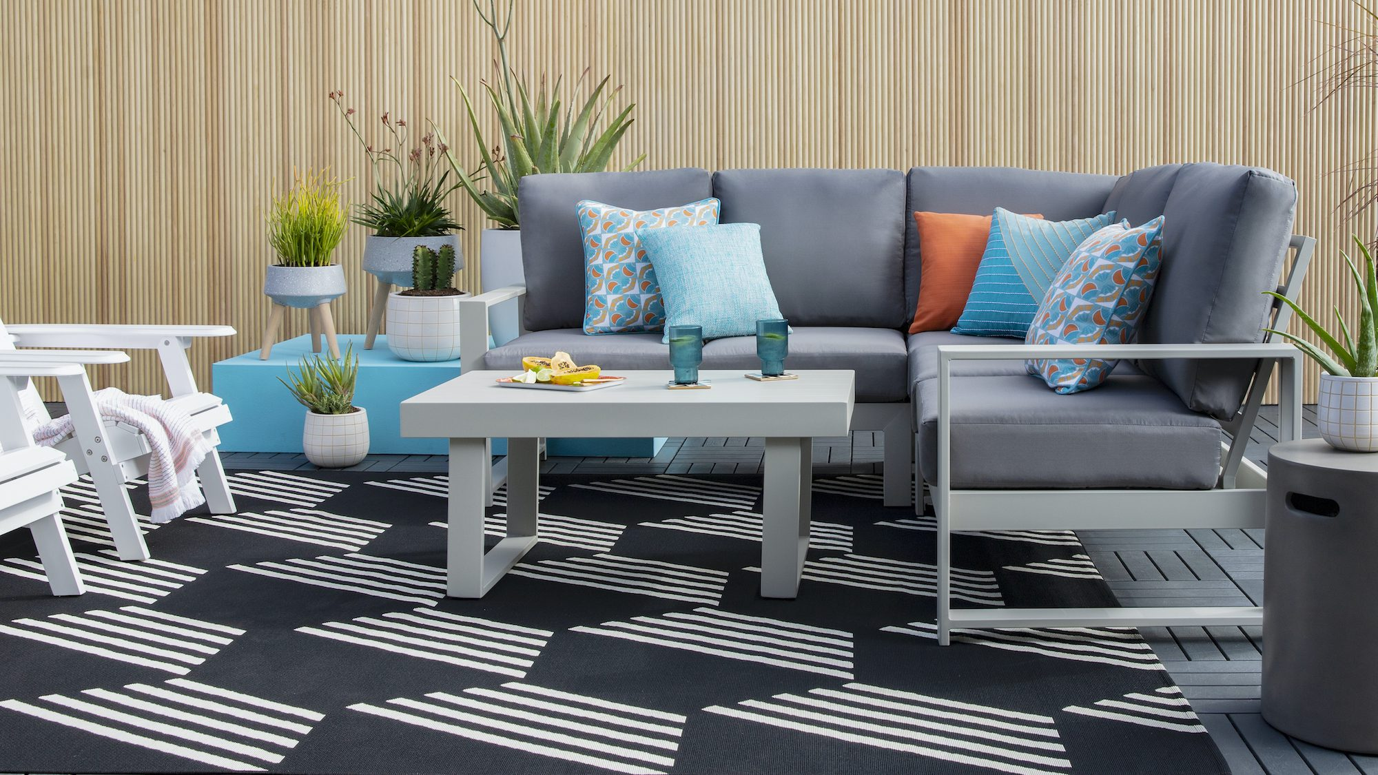 Using blue on accent items or even as accent walls will be seen everywhere. 5 Of The Most Searched Outdoor Decor Trends Of Summer 2021