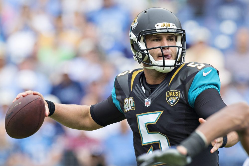 Will Bortles repeat his 2015 success?