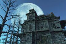 Haunted House Full Moon