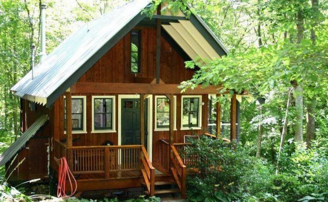 Built By A Bold Woman A Tiny House In North Carolina