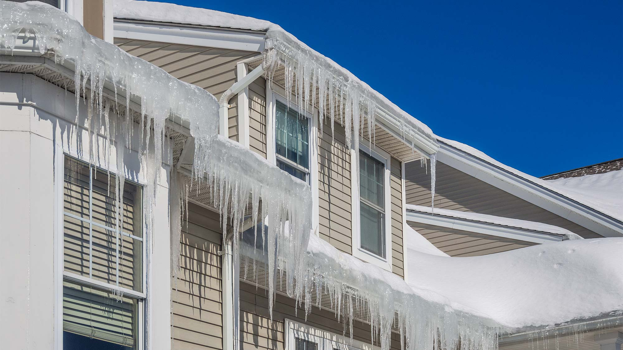 Those darn ice dams.