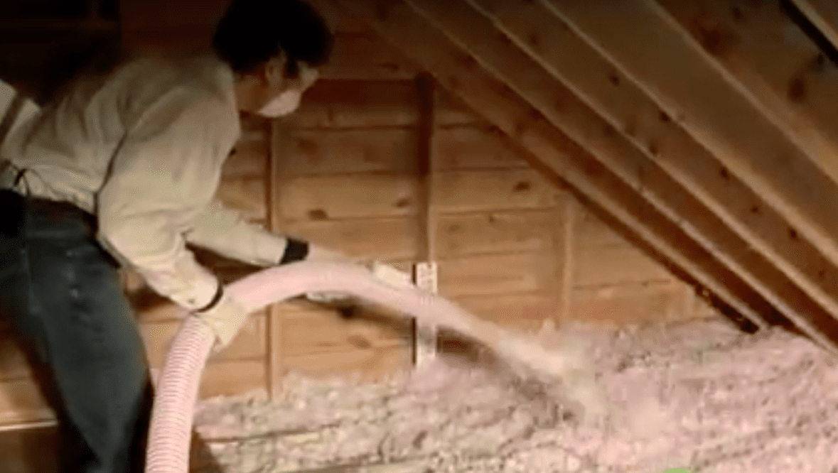 You want the insulation to be level across the attic.