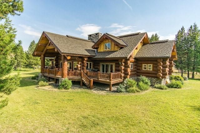 This luxe log cabin is far bigger than it appears