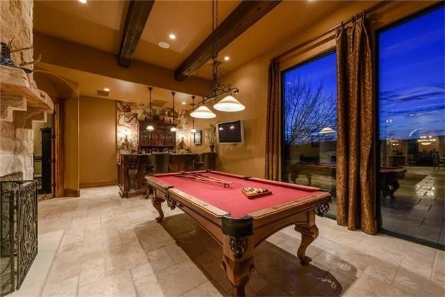 David Draiman's billiards room