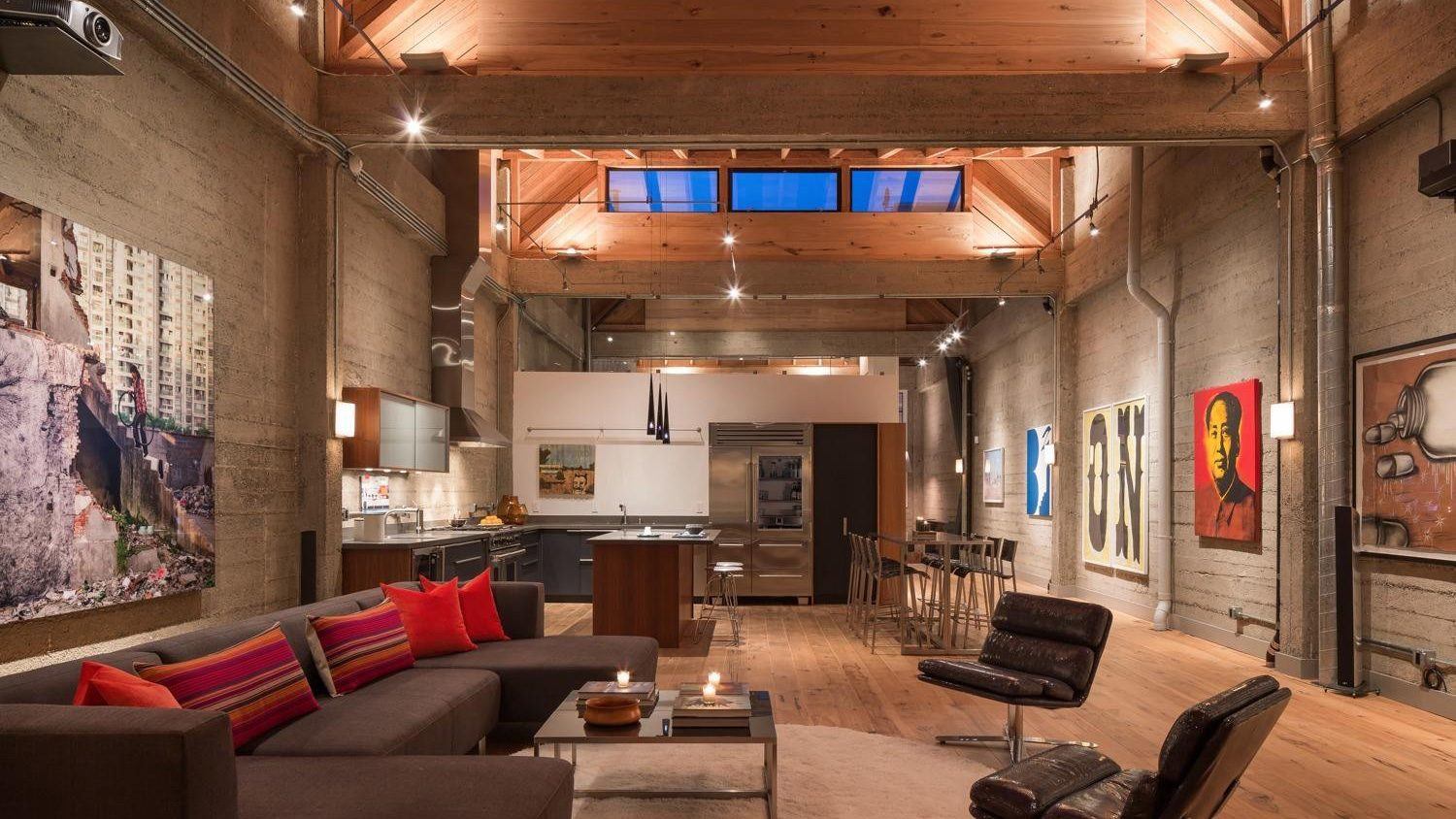 Piece of Art: This Stunning San Francisco Loft Inspired