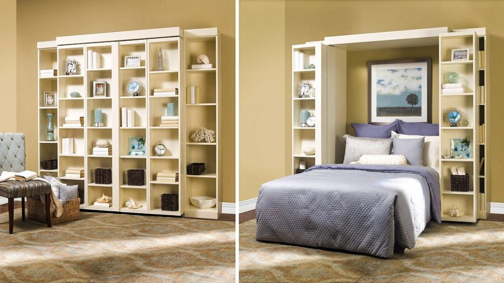 sophisticated murphy beds prove