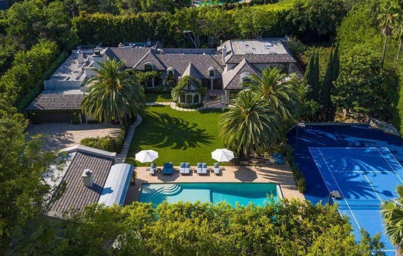 Madonna's former Beverly Hills mansion