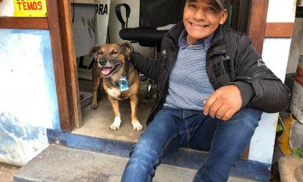 Estacionamento de Canoas tem cachorro como gerente