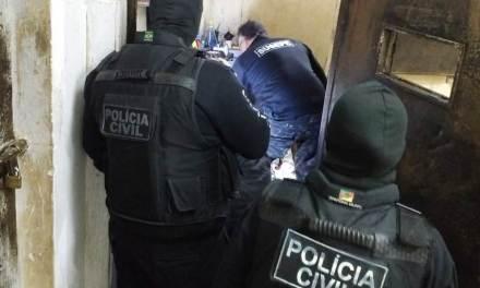 Polícia Civil deflagra operação contra homicídio e incêndio criminoso em motim de presos no Estado