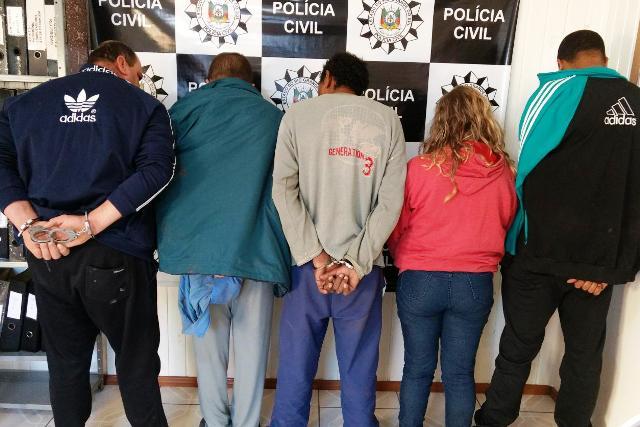 Operação Jaquirana prende envolvidos em quadrilha de venda de adolescentes a traficantes