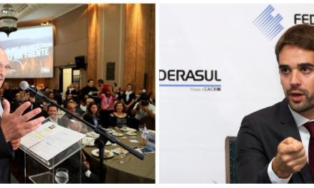 Federasul recebe candidatos ao Governo do RS