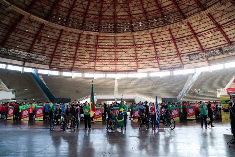 Jogos InterCases reúnem mais de 180 adolescentes da Fase no Gigantinho