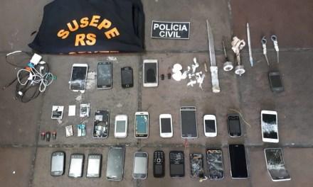 Operação Primeiro Comando prende 17 pessoas e apreende um adolescente em Porto Alegre
