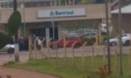 Quadrilha assalta agência bancária em Cambará do Sul