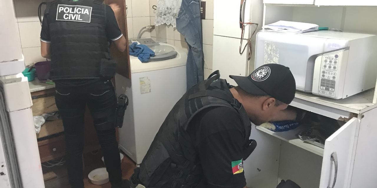 Polícia Civil deflagra a Operação Conde em Porto Alegre