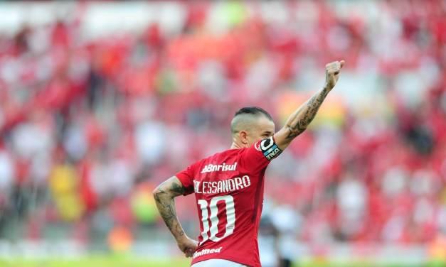D'Alessandro faz parte da concentração do Internacional para a final da Copa do Brasil
