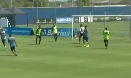 Grêmio vence jogo-treino contra o Cruzeiro-RS