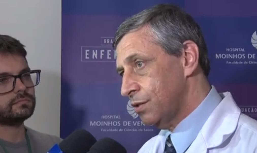 Médico fala sobre a cirurgia de Renato Portaluppi