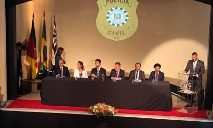 Delegada Nadine toma posse como Chefe de Polícia