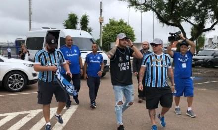 Felipe Vizeu já está em Porto Alegre
