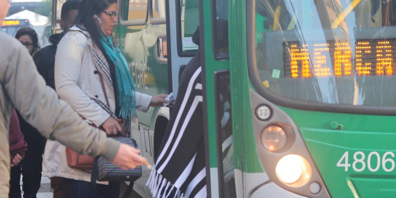 Transporte público da Capital e Trensurb estão mais caros