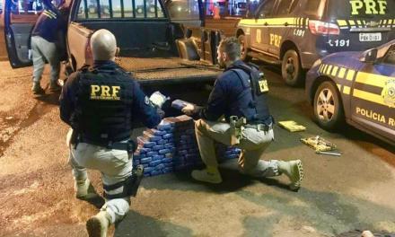 Paranaense é preso transportando 80 quilos de cocaína para o Rio Grande do Sul