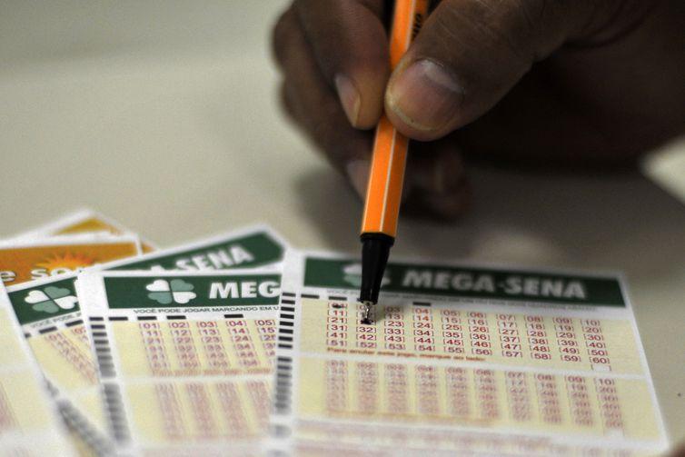 Mega-Sena sorteia neste sábado prêmio estimado de R$ 45 milhões