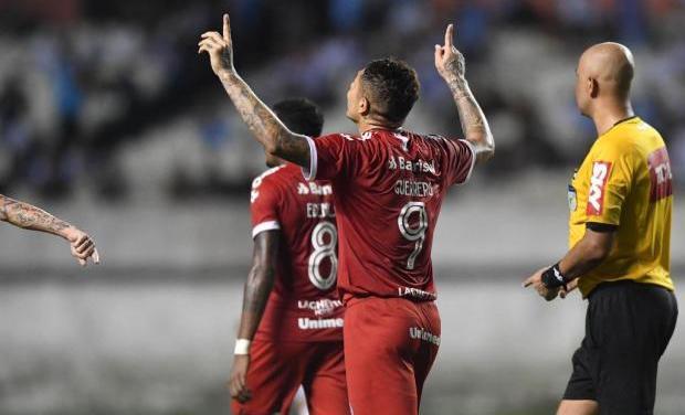 Guerrero pode ser primeiro estrangeiro artilheiro da Copa do Brasil